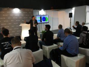Präsentation von auf der VMworld Europe 2016