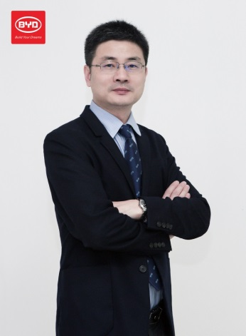 David Dai, Chief Technology Officer responsible for residential storage system
