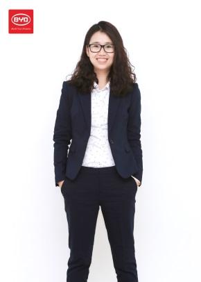 Julia Chen, Global Sales Director of BYD Batteries