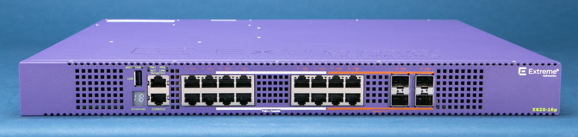 ExtremeSwitching™ X620-16p