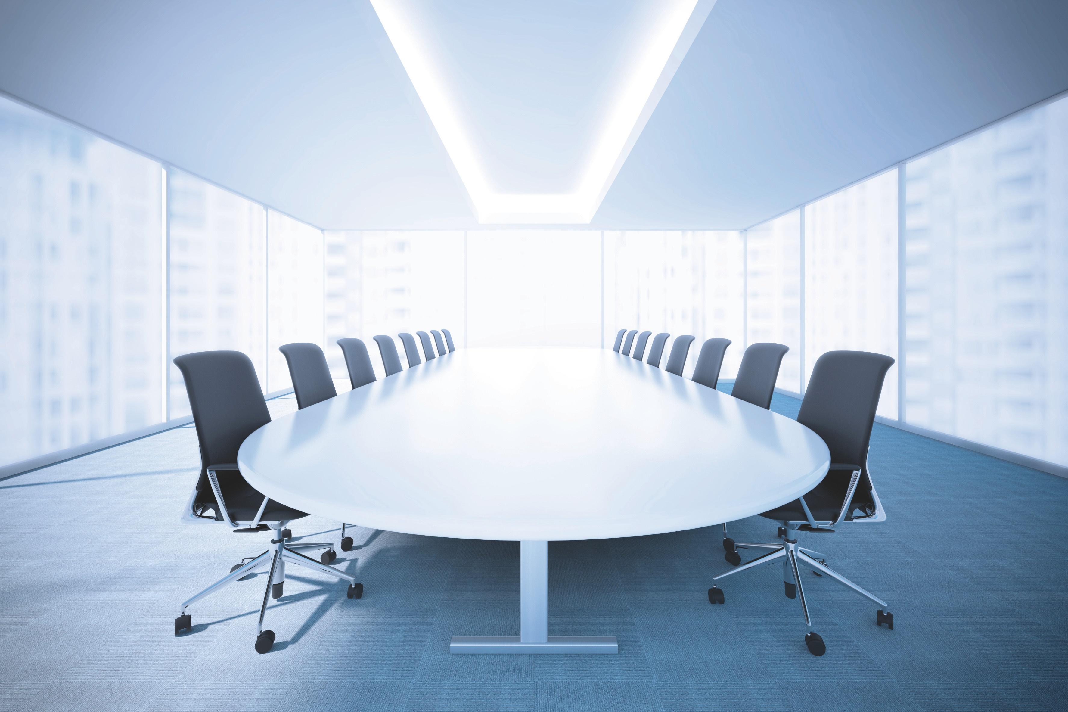 optimale Konferenzraum-Beleuchtung