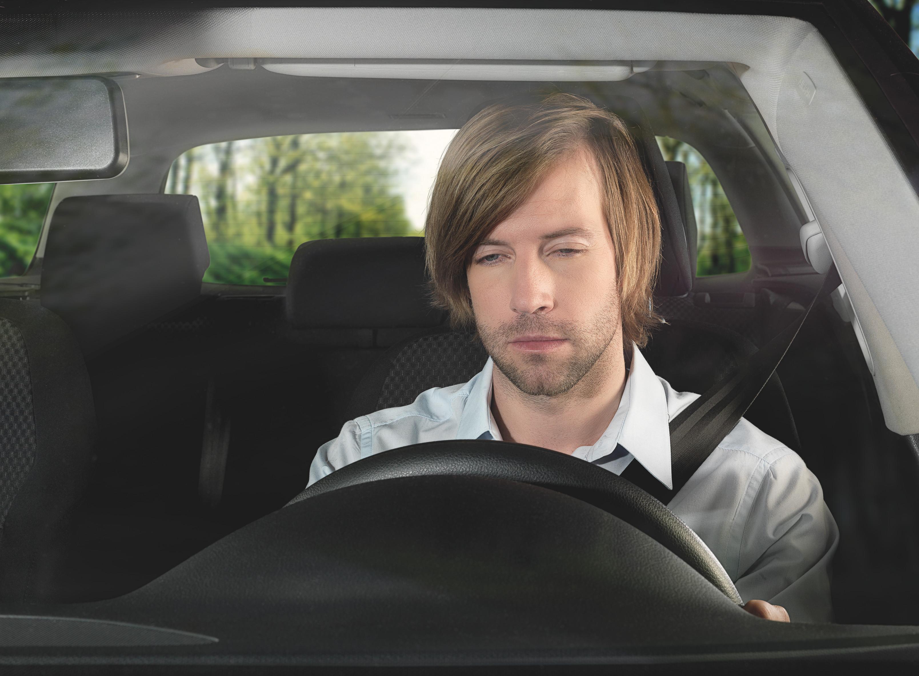 Fahrerüberwachung - Warnung bei Müdigkeit
