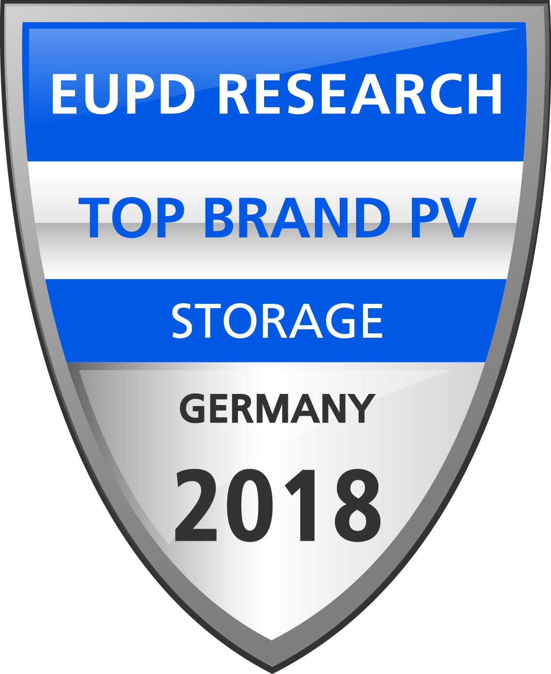 EuPR Top Band PV Storage 2018 for BYD