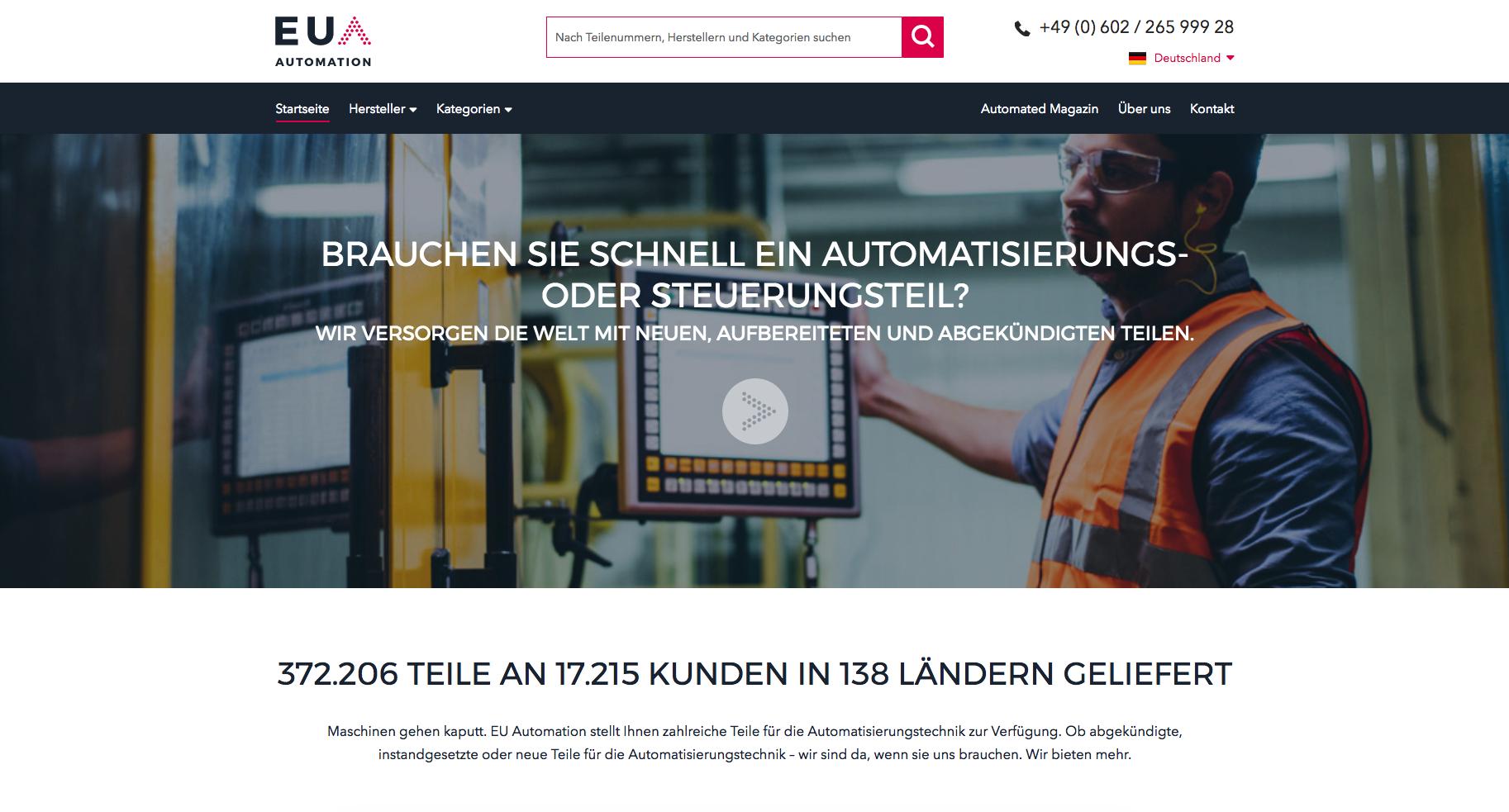 Anwenderbeispiel EU Automation