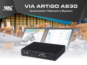 VIA ARTiGO A630 Automation Telemetry System