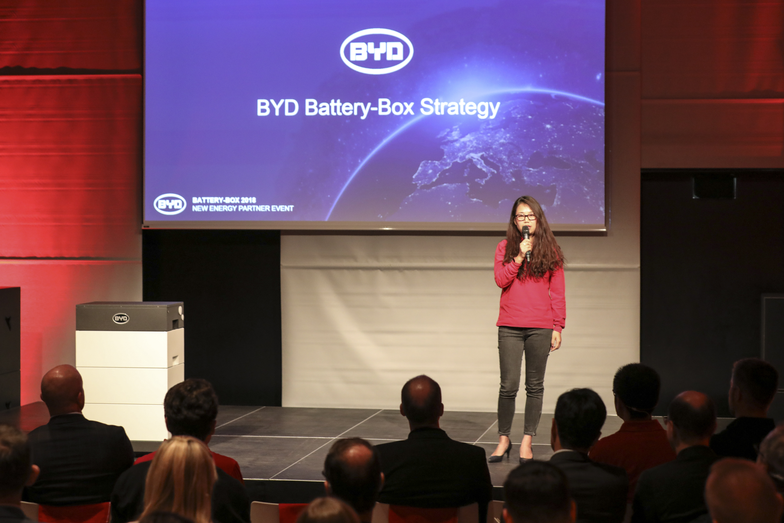 Julia Chen, Global Sales Director BYD Batteries