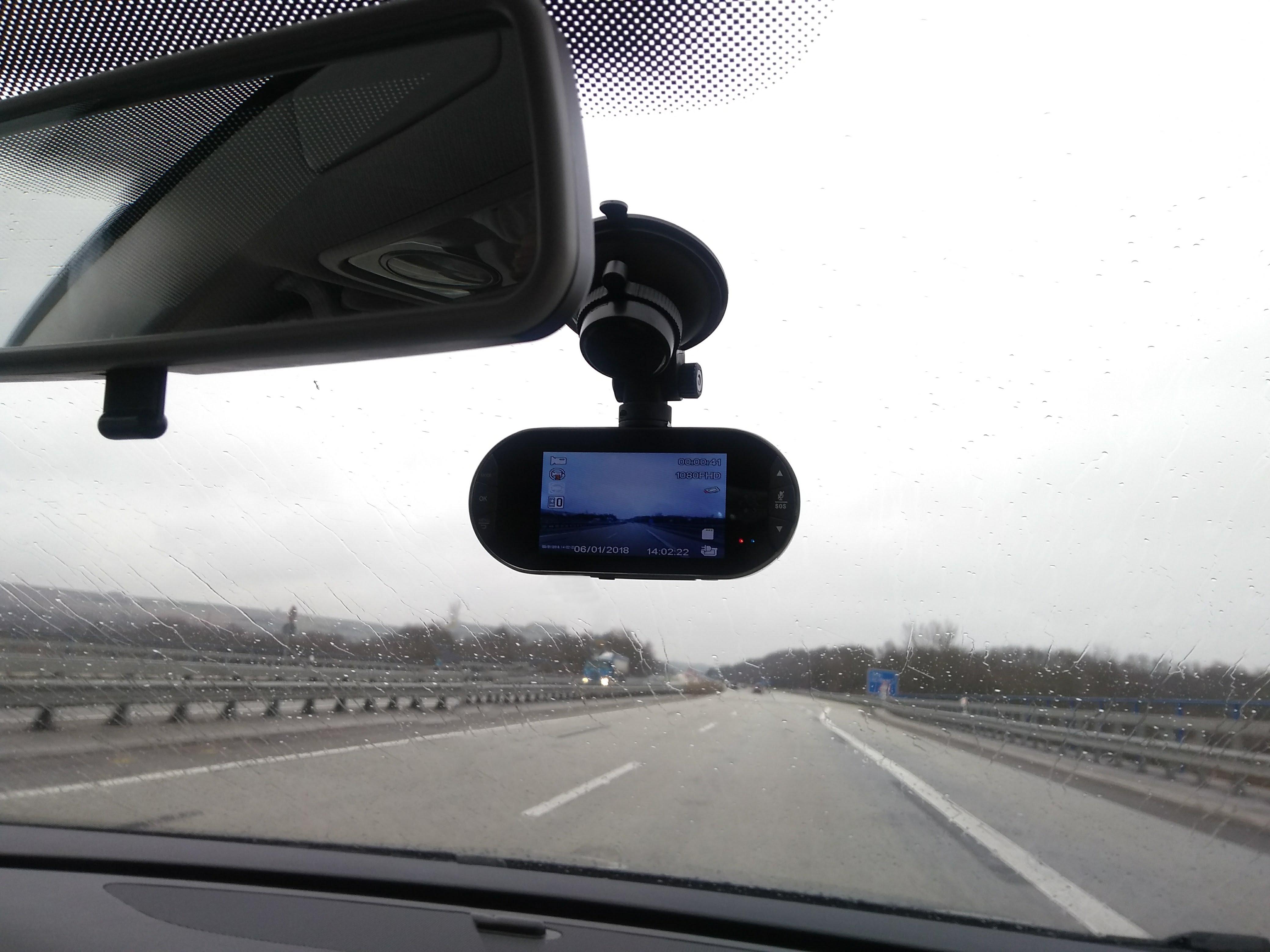 MCD100 im Auto