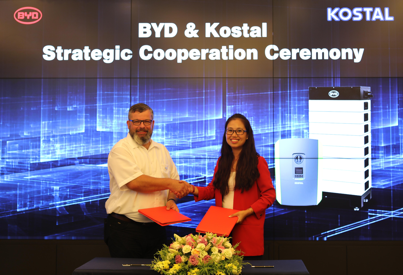Strategische Partnerschaft zwischen BYD und KOSTAL (Thomas Garber)