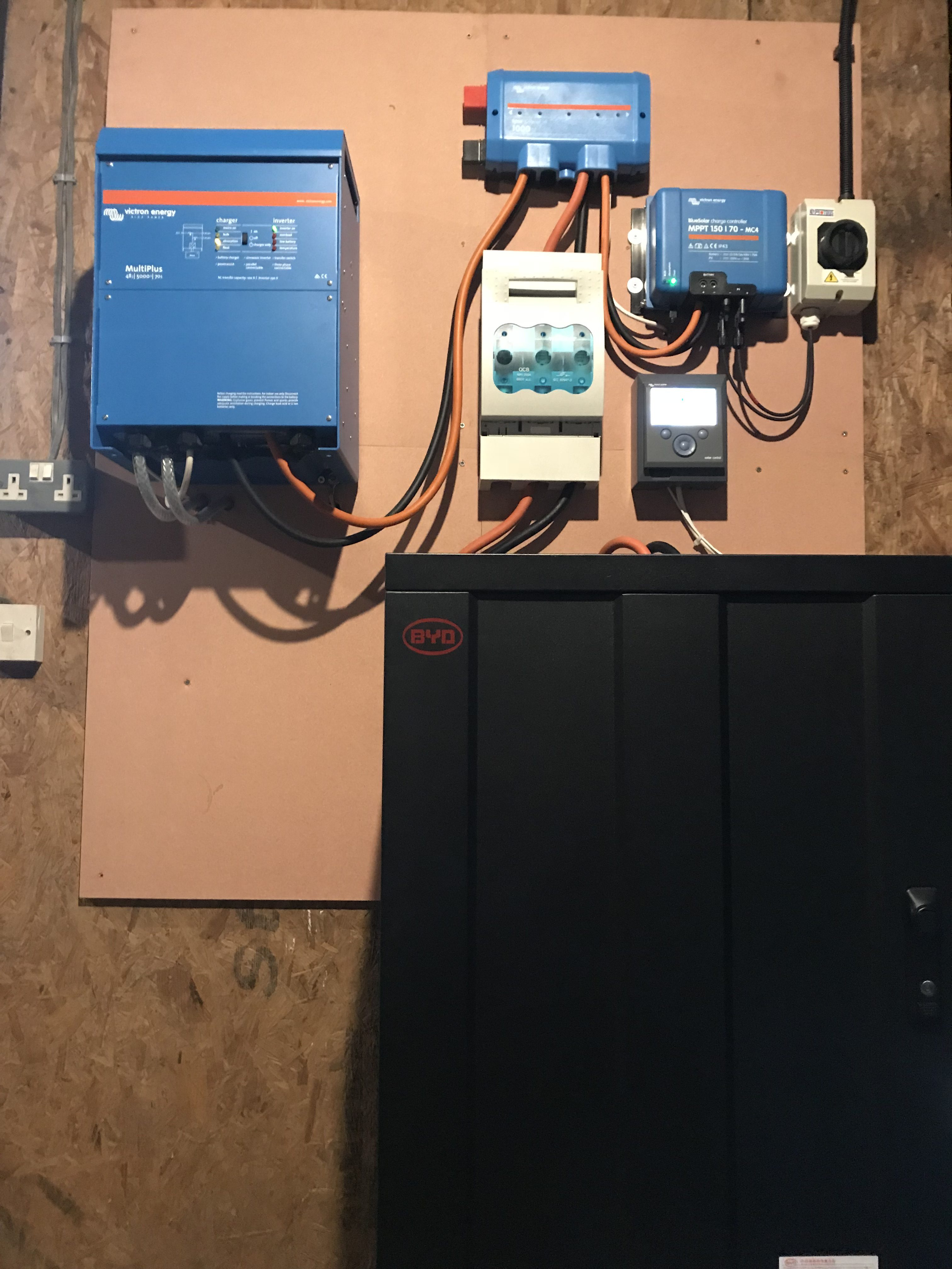 Energy storage with the BYD Battery-Box at Sunrise Farm