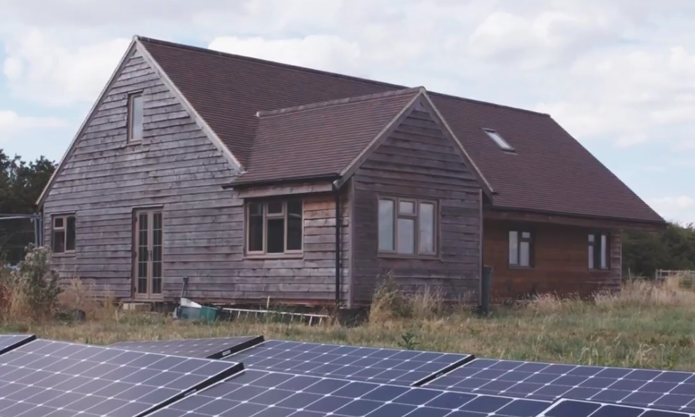 Horse Therapy Off-Grid Farm in Southern England
