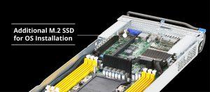 flexible SSD-Optionen für SATA und PCIe M.2-Geräte zur Installation des Betriebssystems