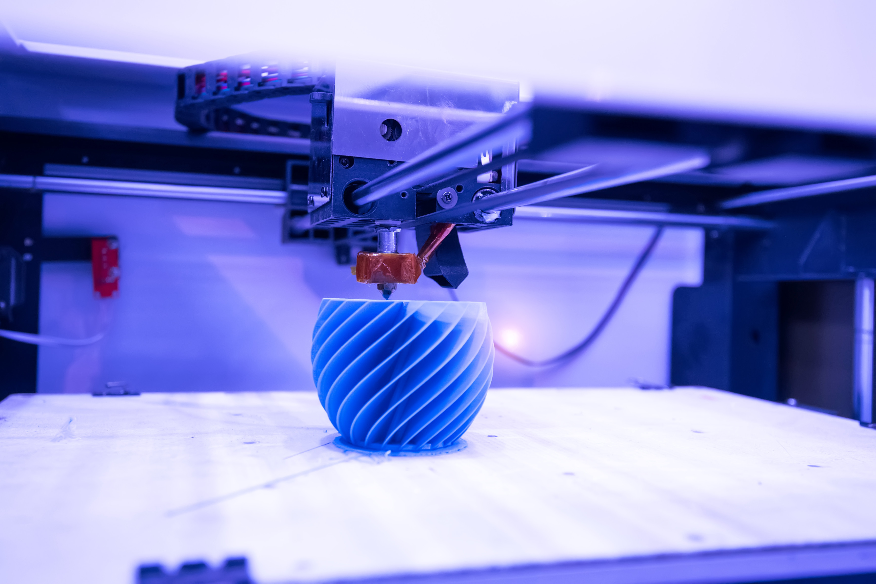 3D-Printing nutzt LED-Technik