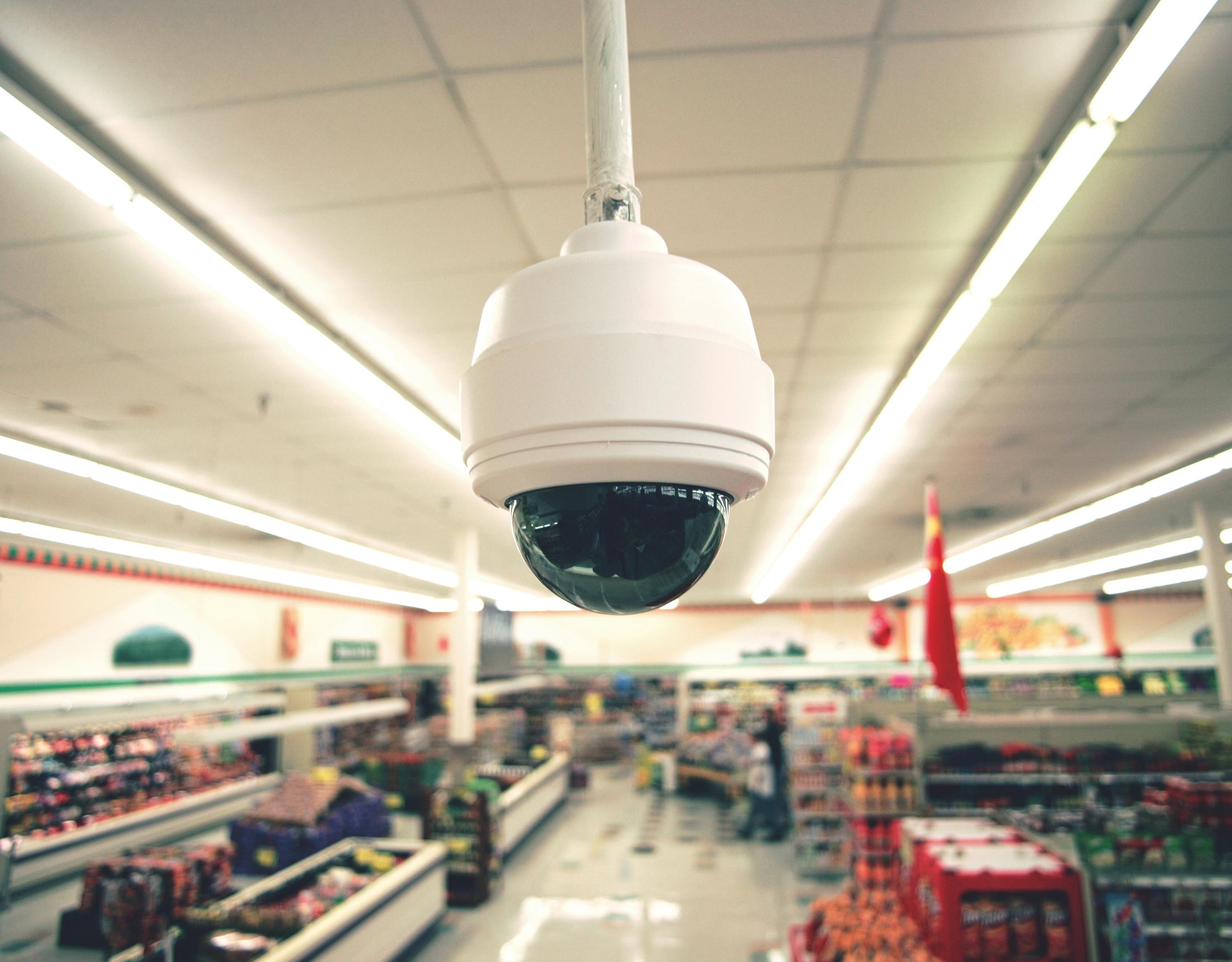 Sicherheitskameras setzen auf LED-Technik
