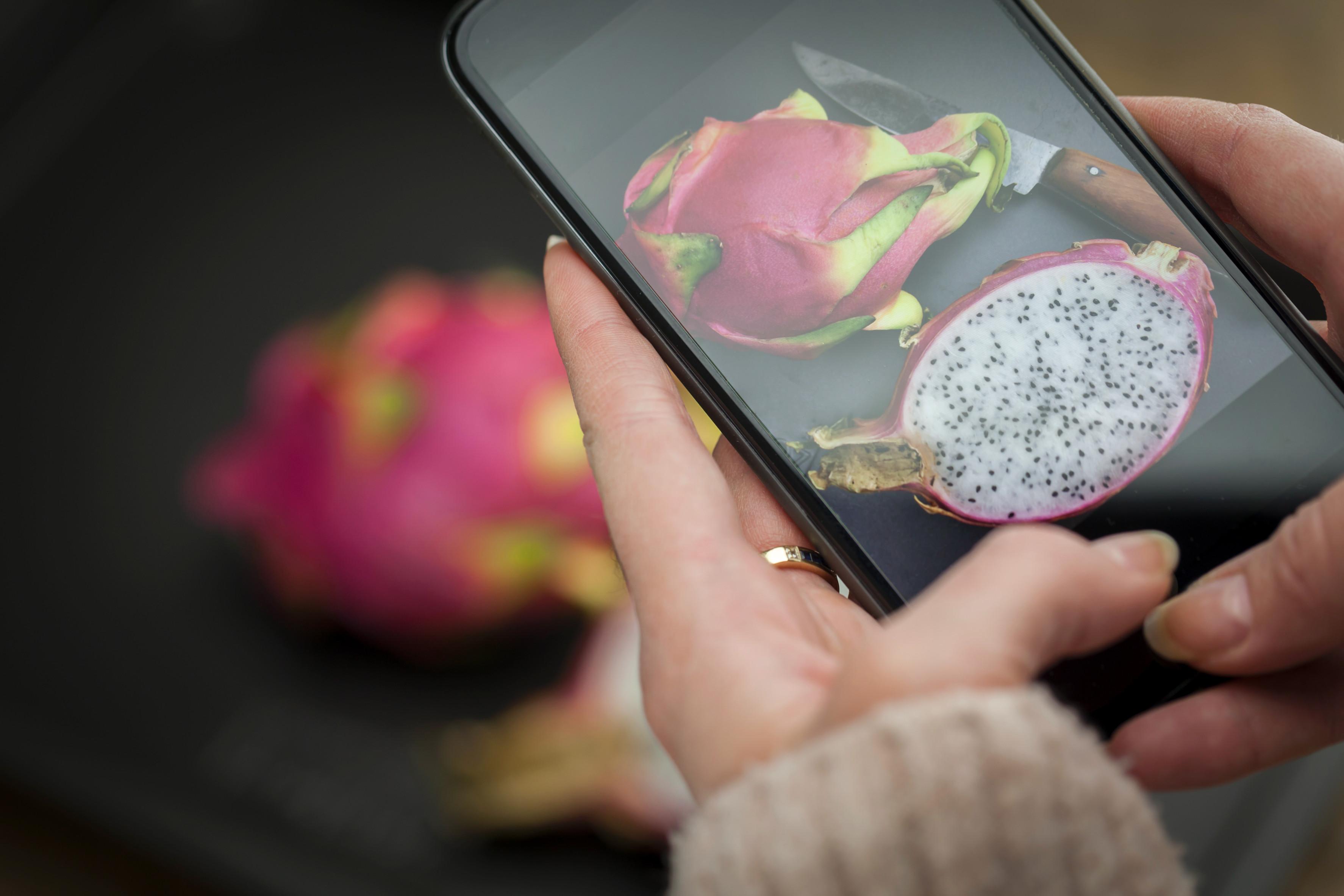 Smartphone-Scan für Lebensmittel