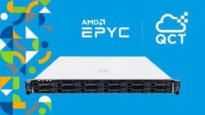QCT nutzt Prozessoren der AMD EPYC™ 7002 Serie