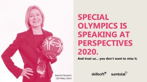 Special Olympics Sprecher - Perspectives 2020