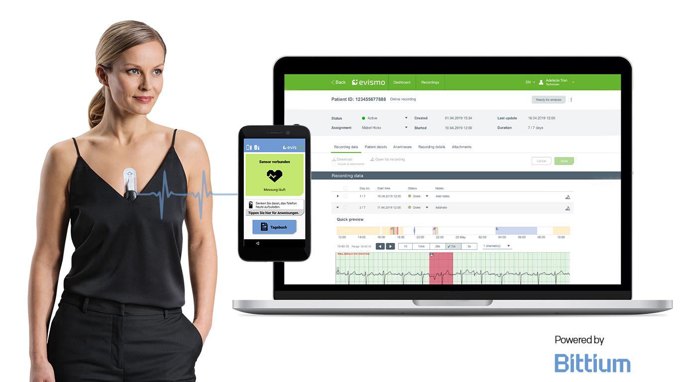 Fernüberwachung mit Bittium Medical Suite™