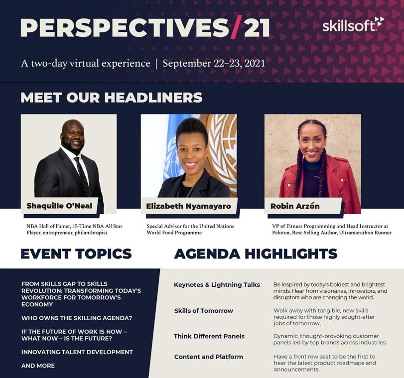 Perspectives 2021 - Sprecher & Programm